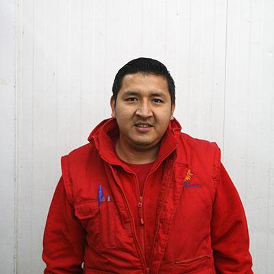Oscar Franklin Guananga - Equipo Frutas HRG