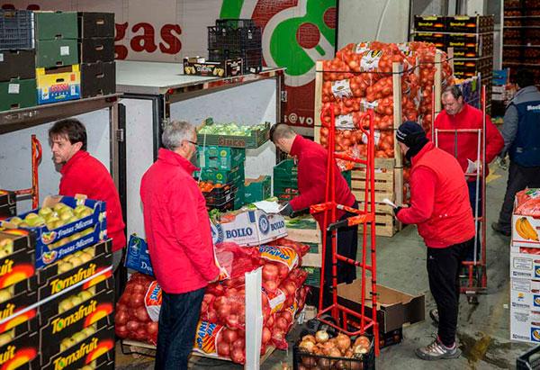 Frutas HRG Mercamadrid equipo de trabajo