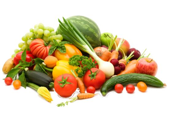 Sutido frutas y verduras